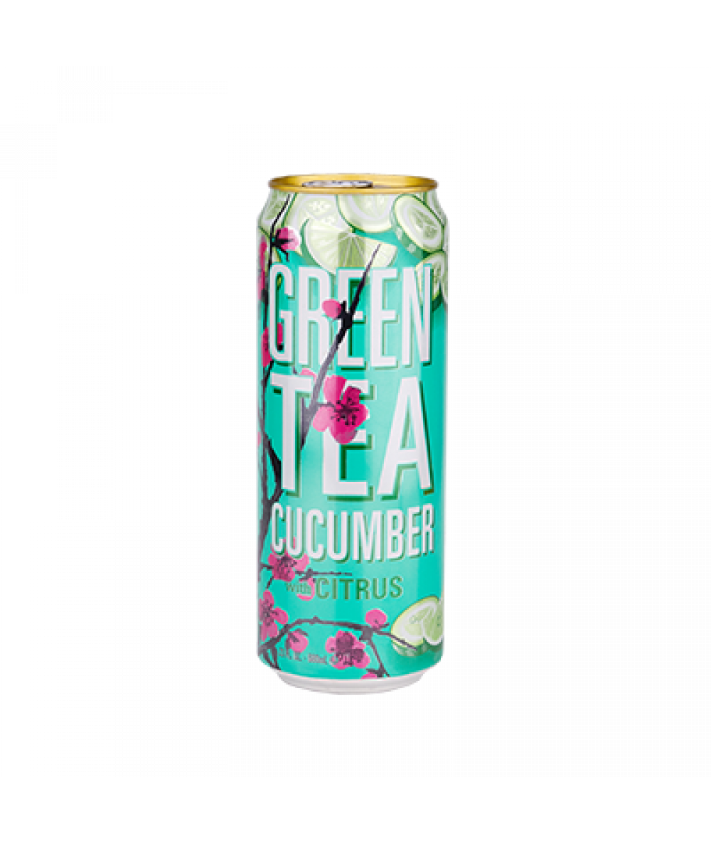 Arizona Green Tea With Citrus & Cucumber 23oz