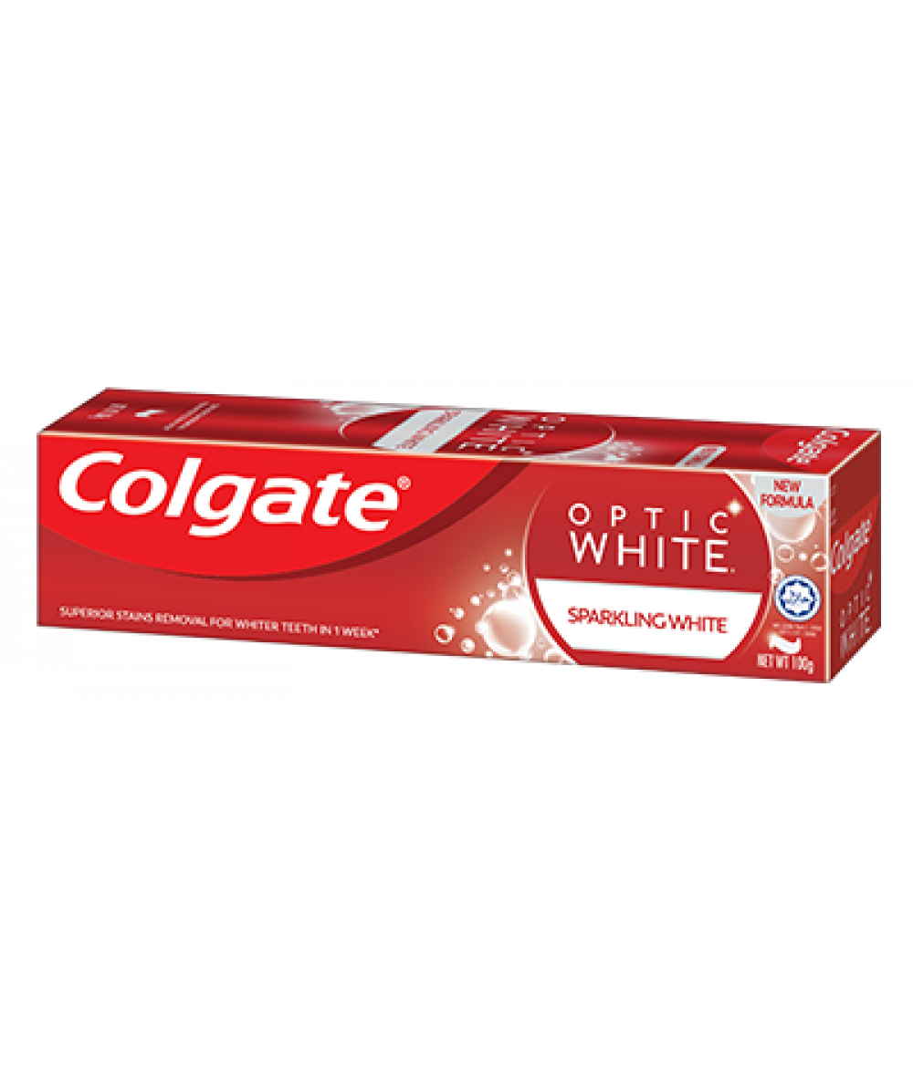Colgate Optic White Sparkling Mint 100g,