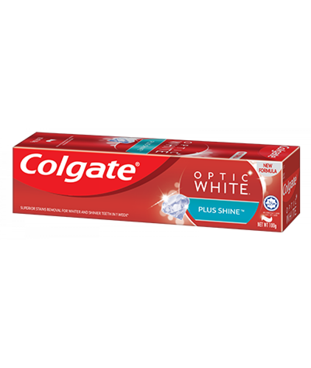 Colgate Optic White Plus Shine 100g,