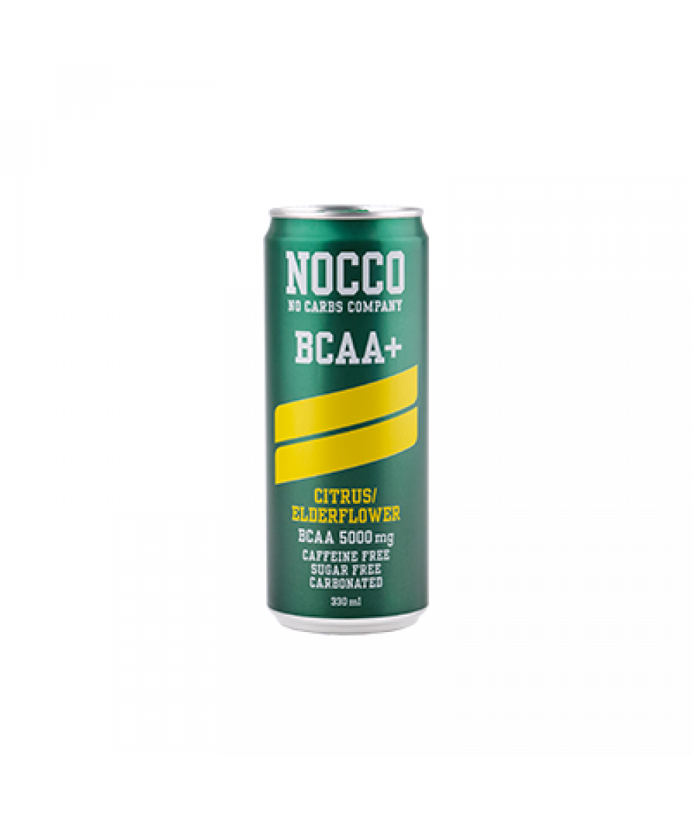 Nocco Citrus/Elder Flower (No Caffeine) 330ml