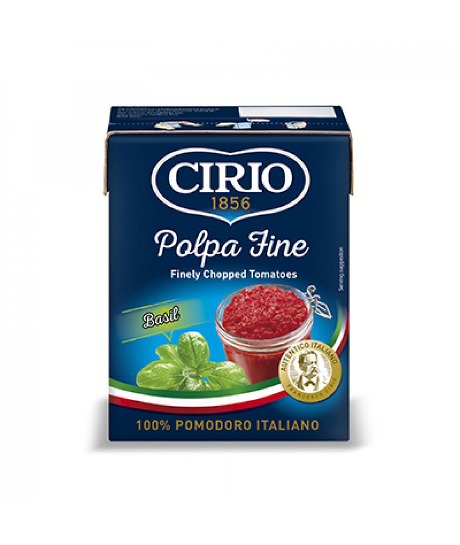 Cirio Polpa Fine Basil 390g