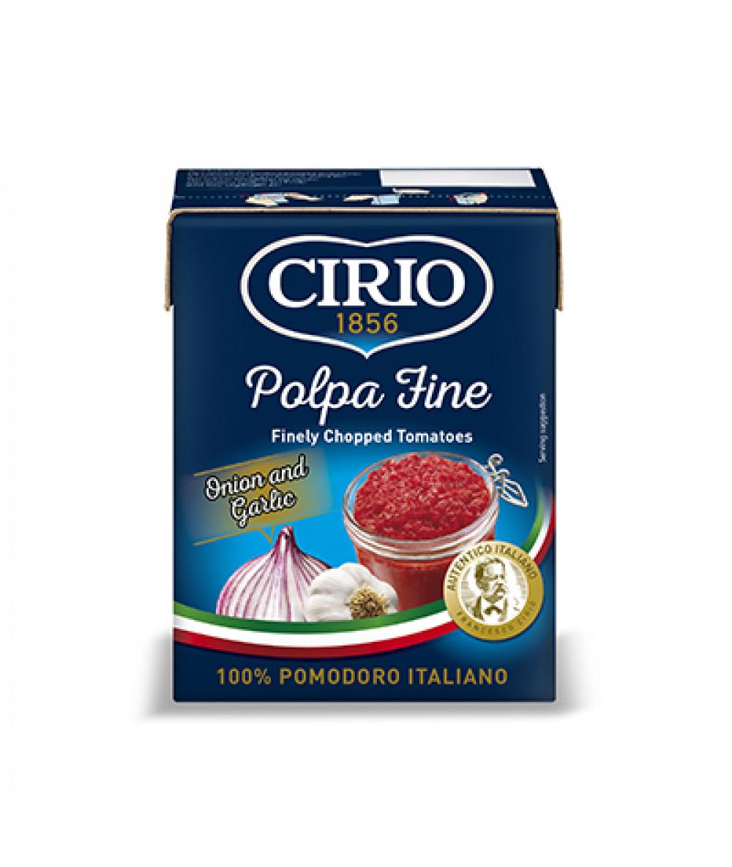 Cirio Polpa Fine Onion Garlic 390g