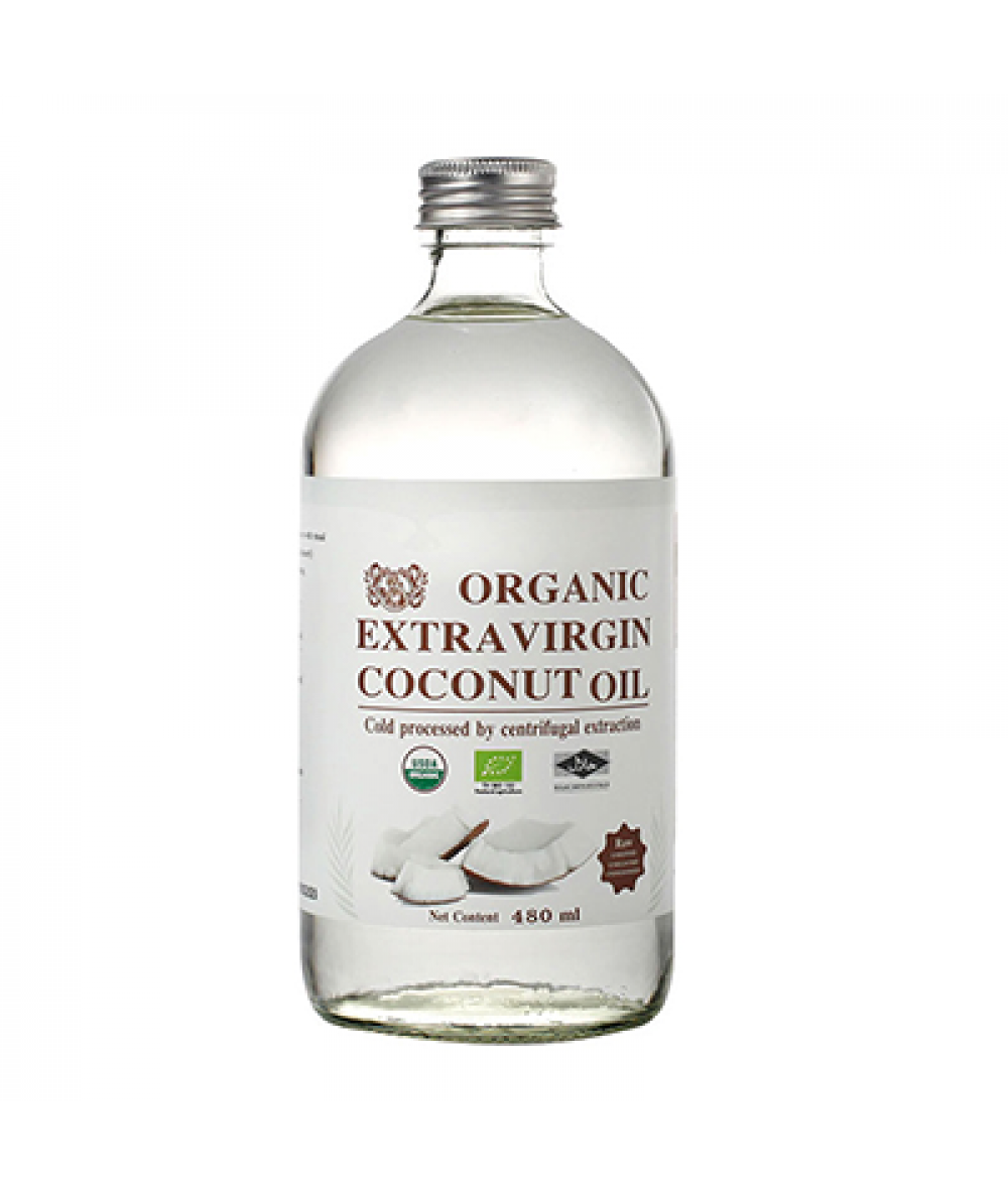Mamami Organic EV Coconut Oil 480ml