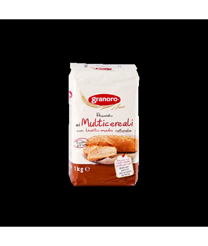 Granoro Farina Mutlicereali Soft Wheat 1kg