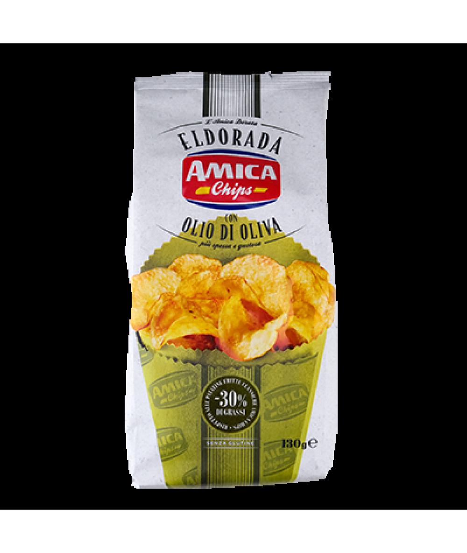 Amica Eldorada Chips Olive Oil 130g