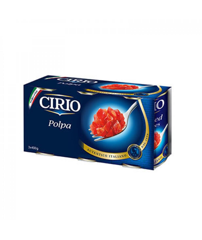 Cirio Polpa 3x400g