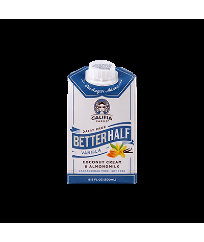 Califia Half Creamer Coco Almond Milk Vanilla 16.9