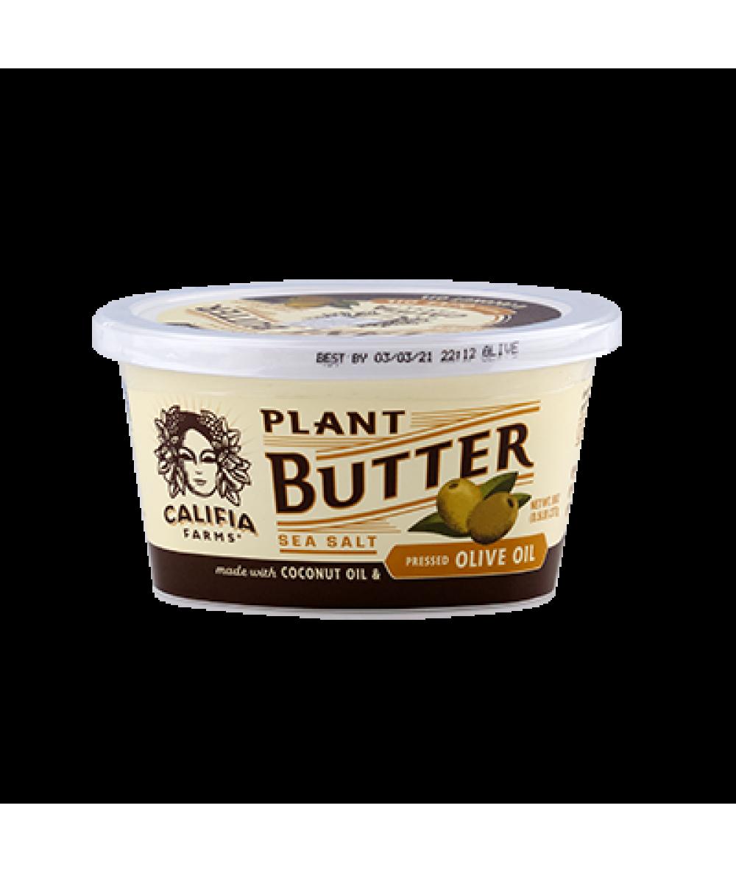 Califia Plant Butter Sea Salt Olive Oil 227g