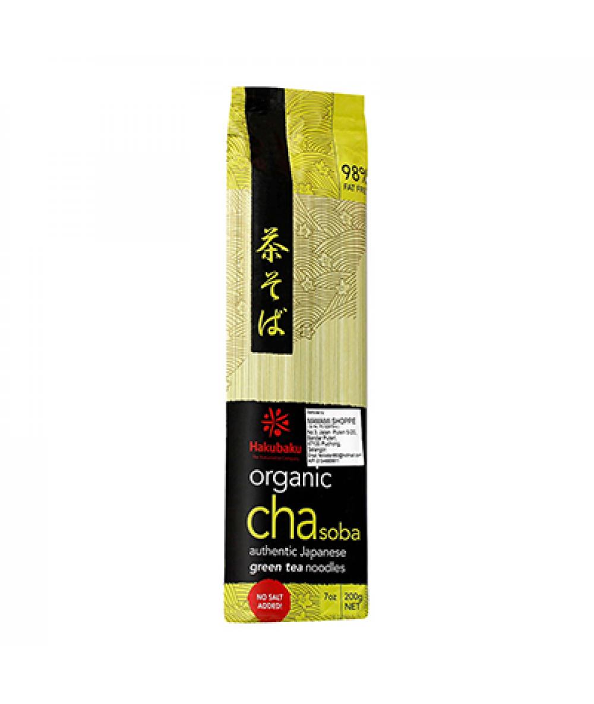 Hakubaku Organic Cha Soba 200g