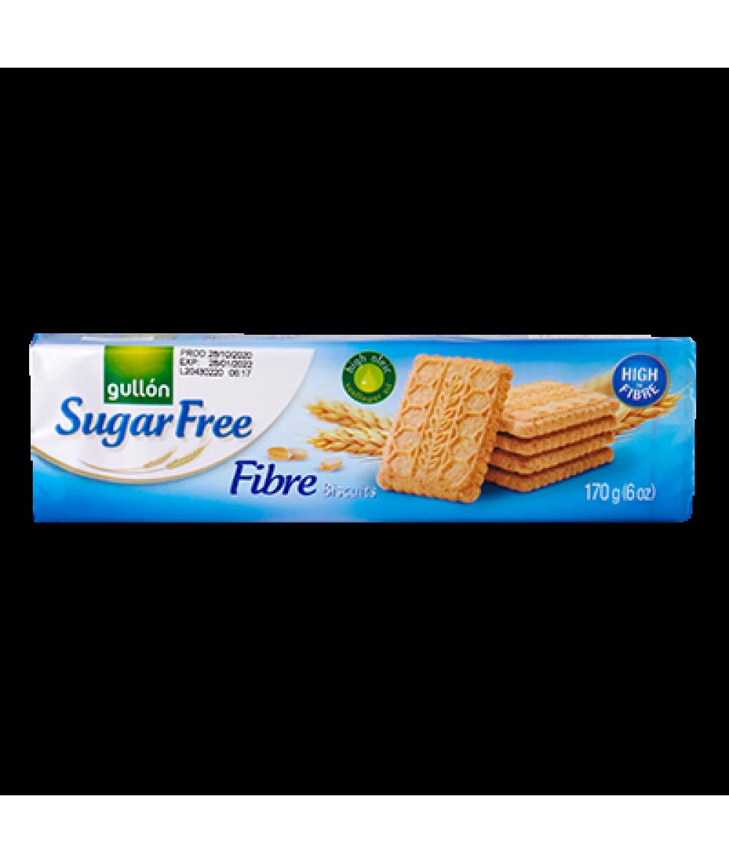 Gullon Fibre Cookies Sugar Free 170g