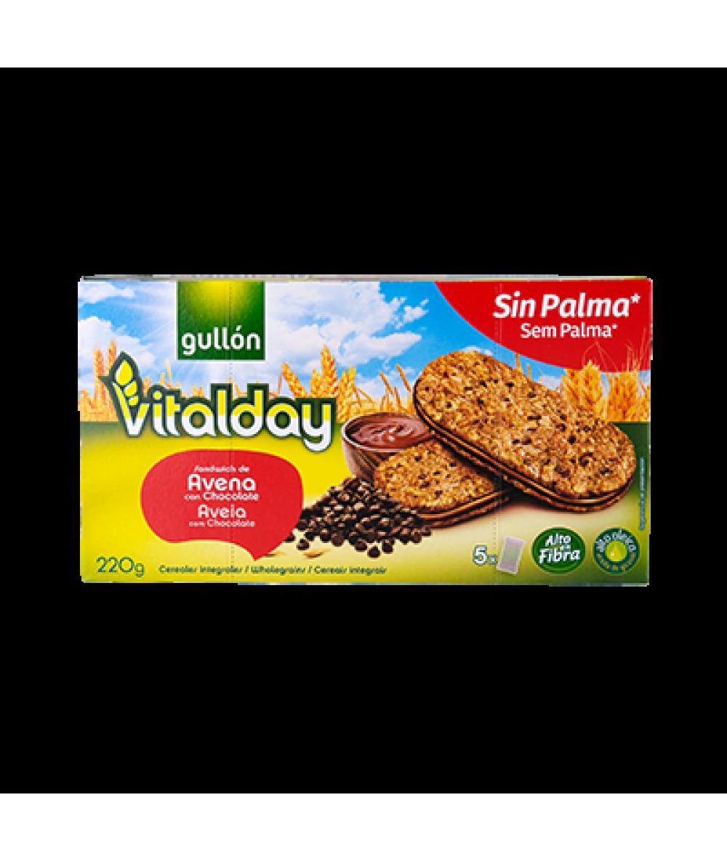 Gullon Vitalday Hazelnut Creams 220g