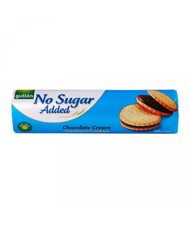 Gullon No Sugar Added Chocolate Cream Biscuit 250g
