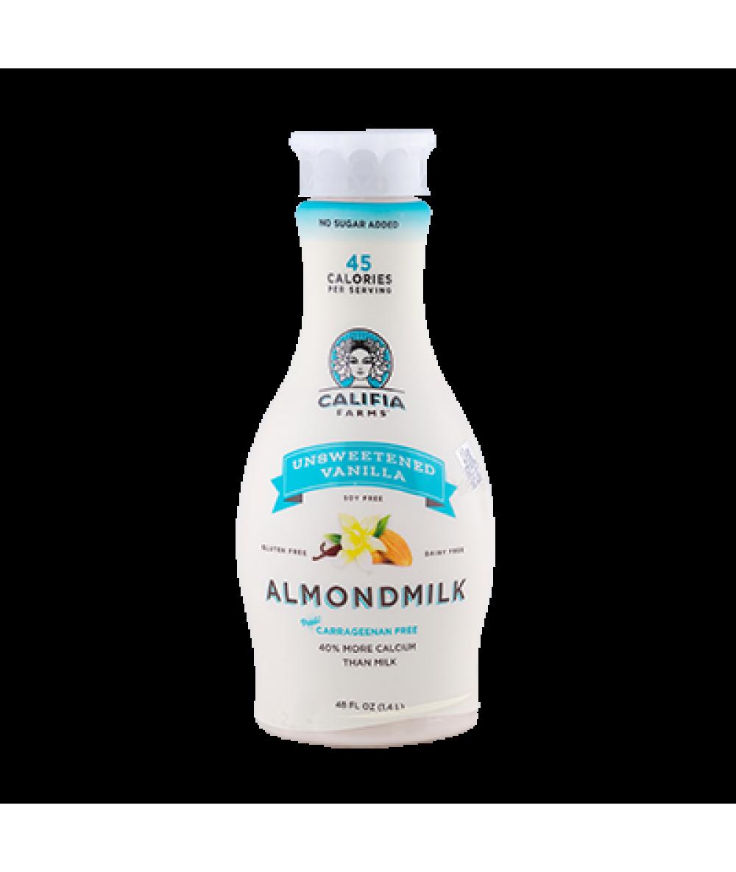 Califia Almond Milk Vanilla Unsweetened 48oz