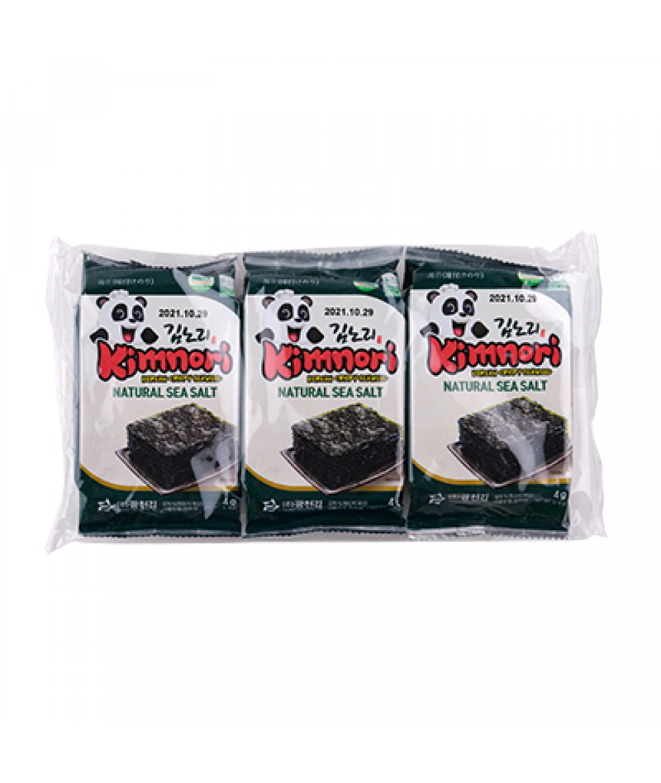 KCK Kimnori Original Flavor  (Seasoned Seaweed) 3x