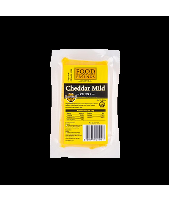 Food For Friends Cheddar Mild Chunk   226g