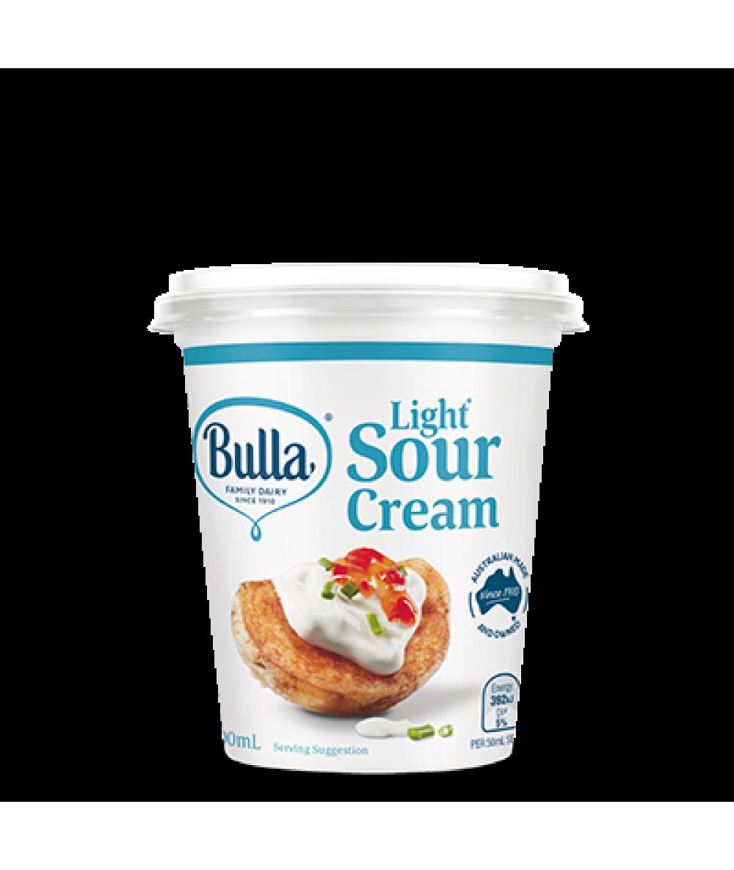Bulla Light Sour Cream 200ml