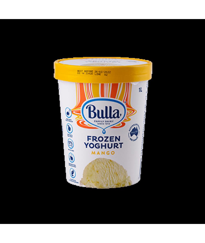 Bulla 97% Fat Free Frozen Yogurt Mango 1L