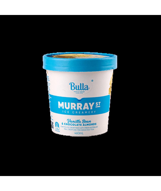 Bulla Murray Vanilla Choc Almonds 460ml