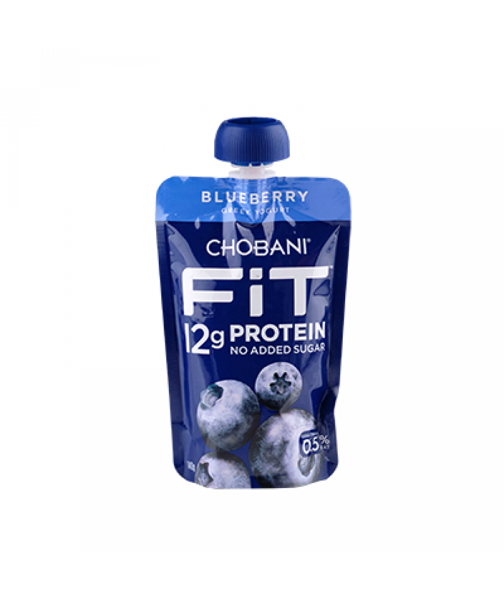 Chobani Fit Blueberry Pouch 140g