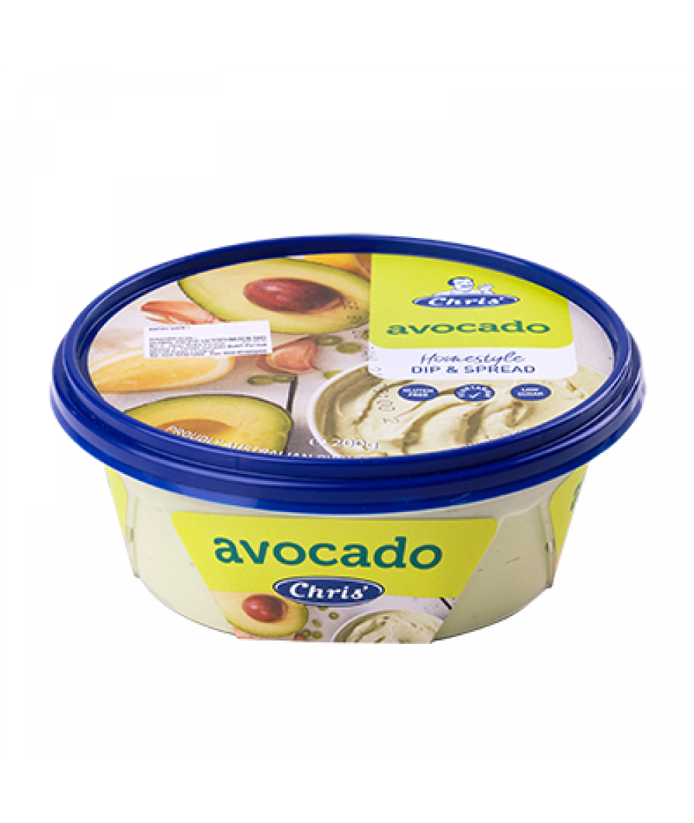Chris Traditional Avocado Dips 200g