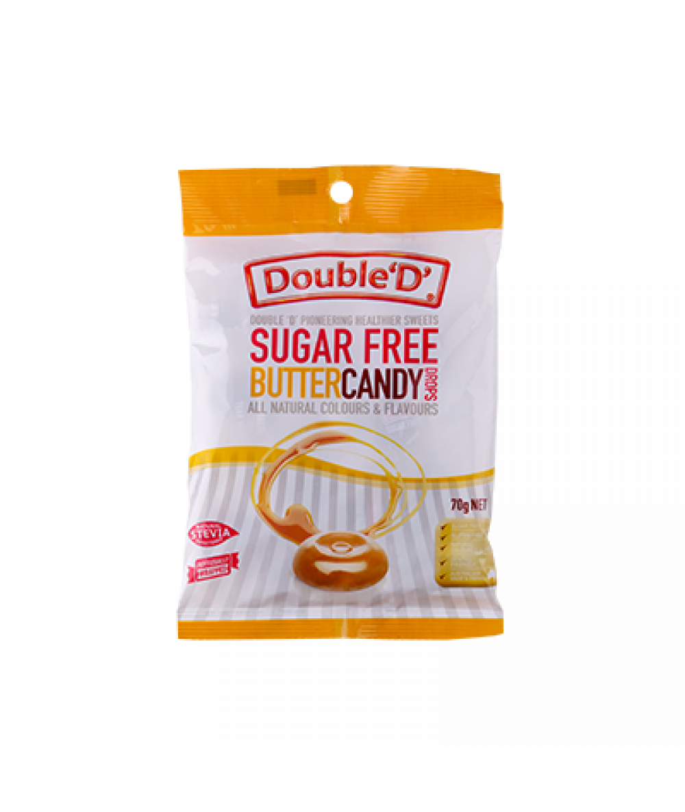 Double D Sugar Free Butter Candy Drop 70g