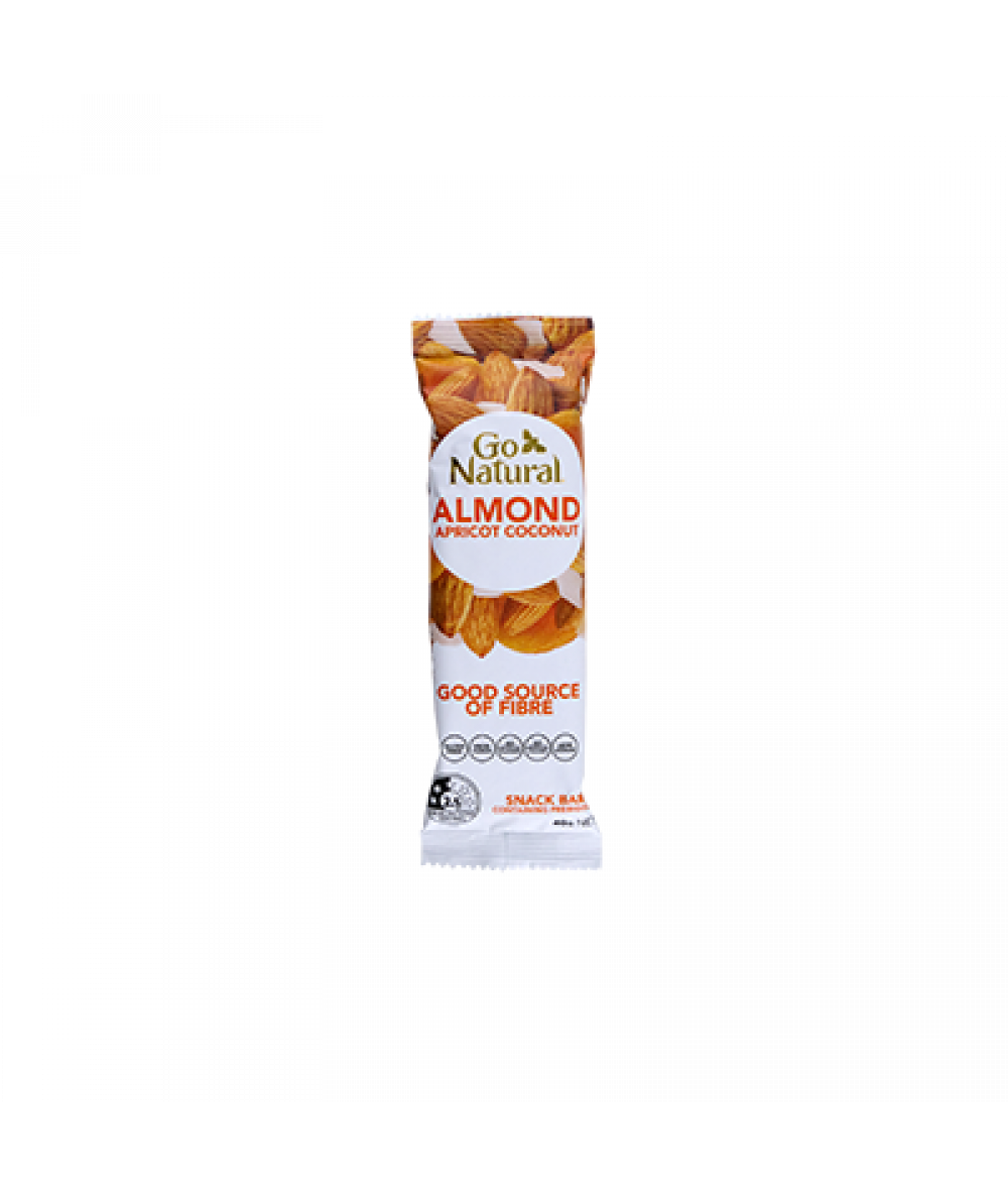 Go Natural Almond & Apricot 40g