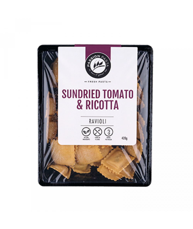 Passion Pasta Sundried Tomato Ravioli 420g