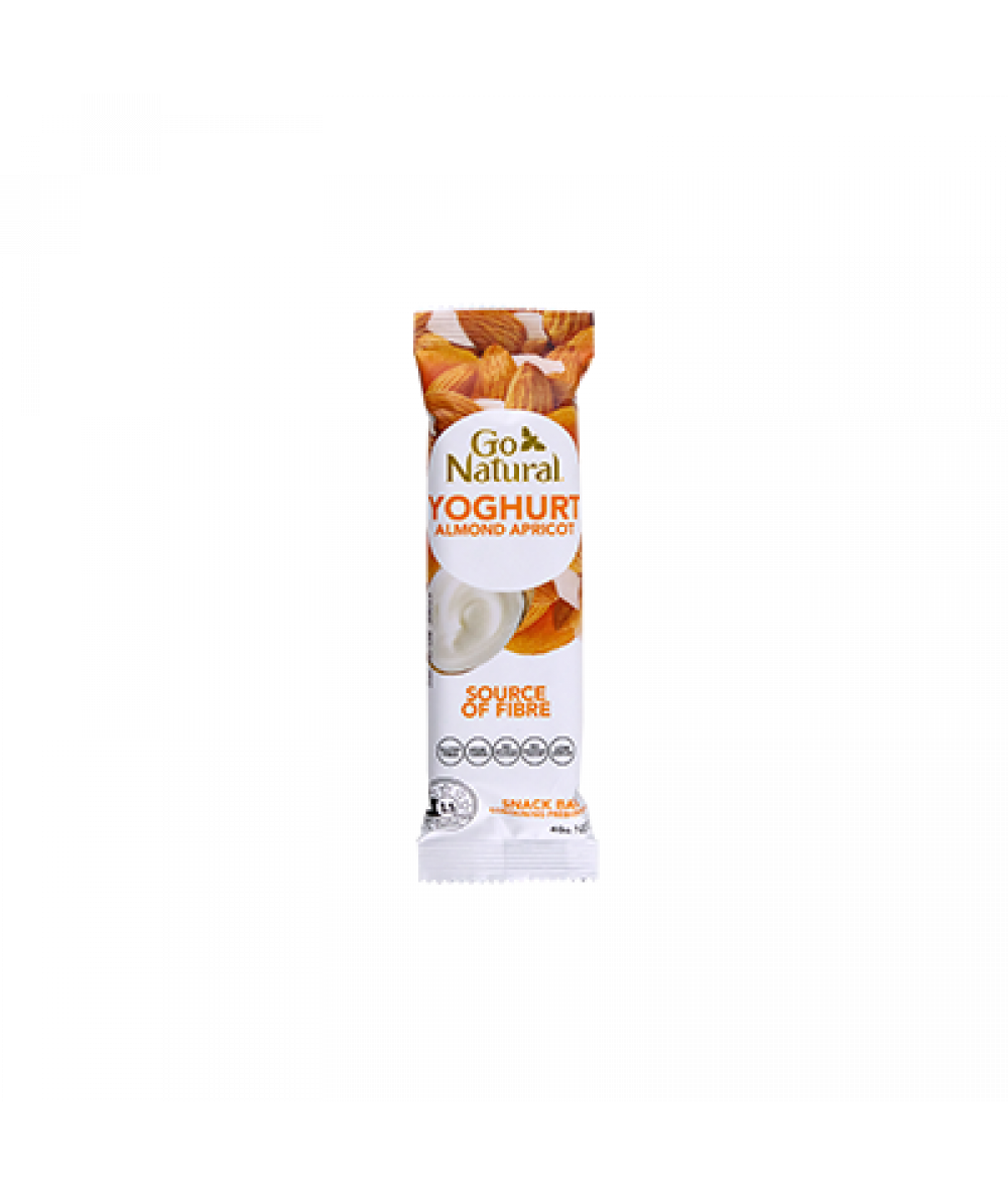 Go Natural Almond & Apricot Yoghurt 40g