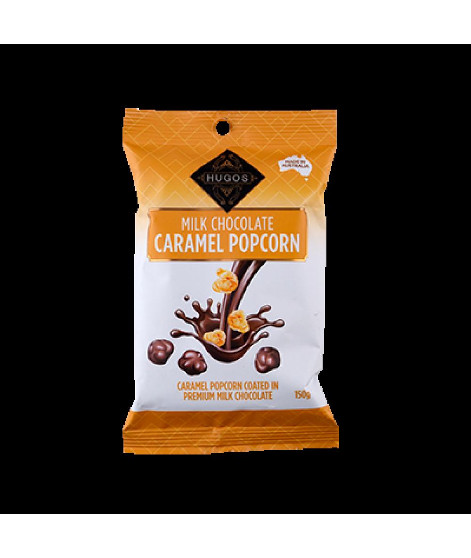 Hugos  Chocolate Caramel Popcorn 150g
