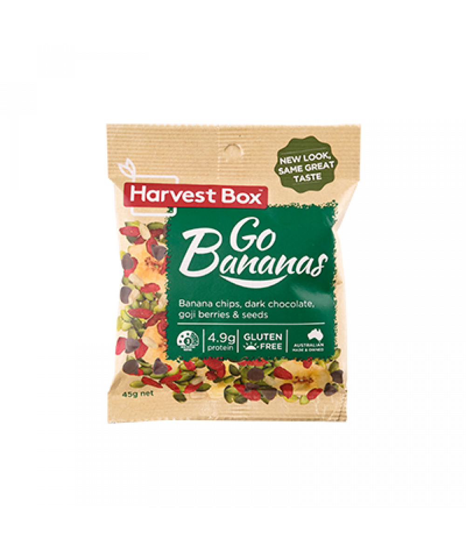 Harvest Box Go Bananas 45g