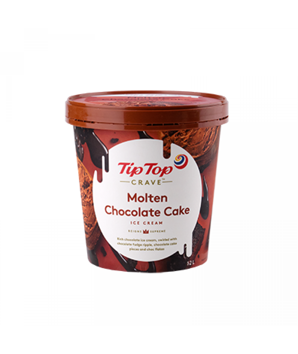 Tip Top Crave Molten Chocolate Cake 1.2L