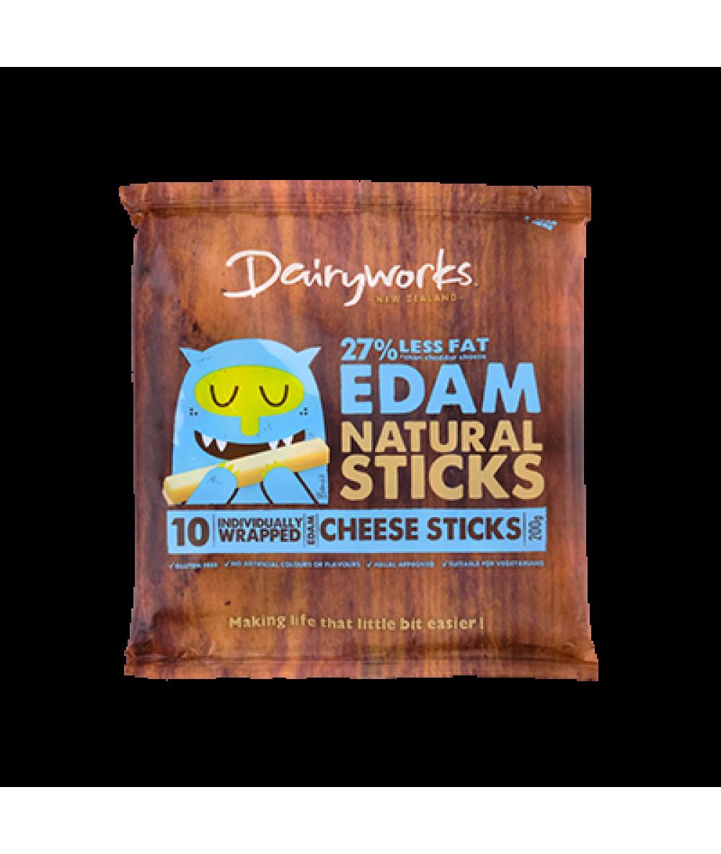 Dairyworks Edam Cheese Sticks 200g