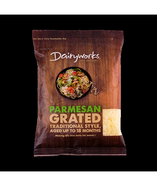 Dairyworks Parmesan Grated 200g
