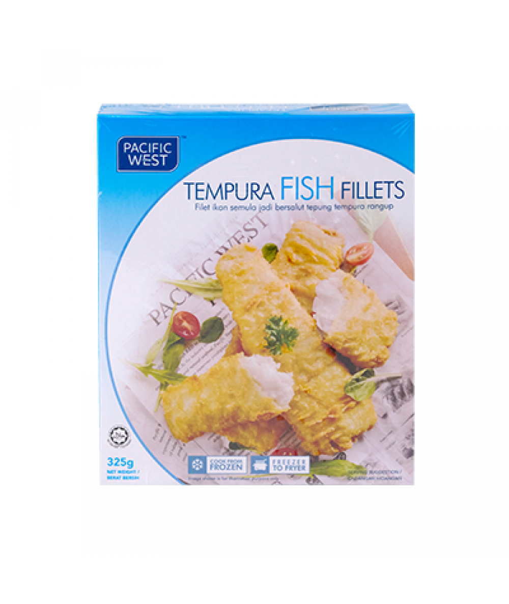 Pacific West Tempura Fish Fillet  325g