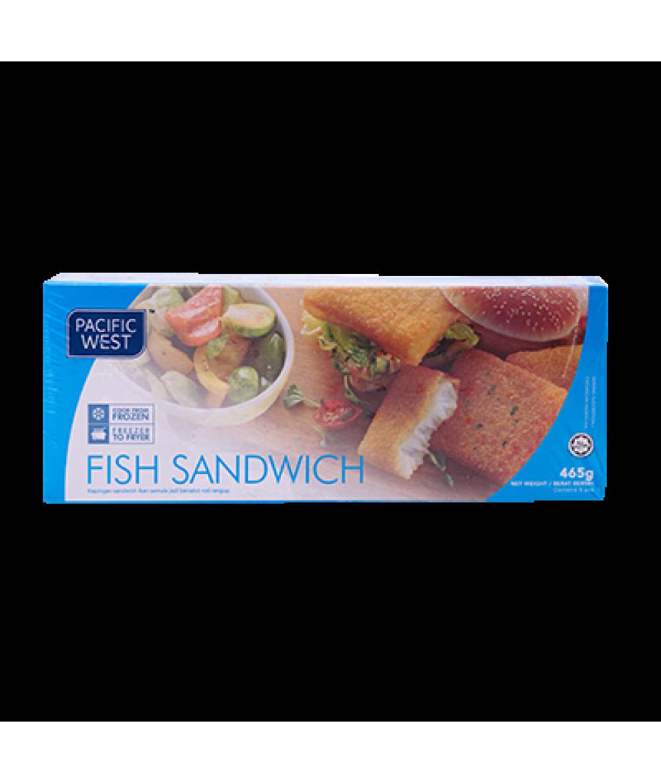 Pacific West Fish Sandwish 465g