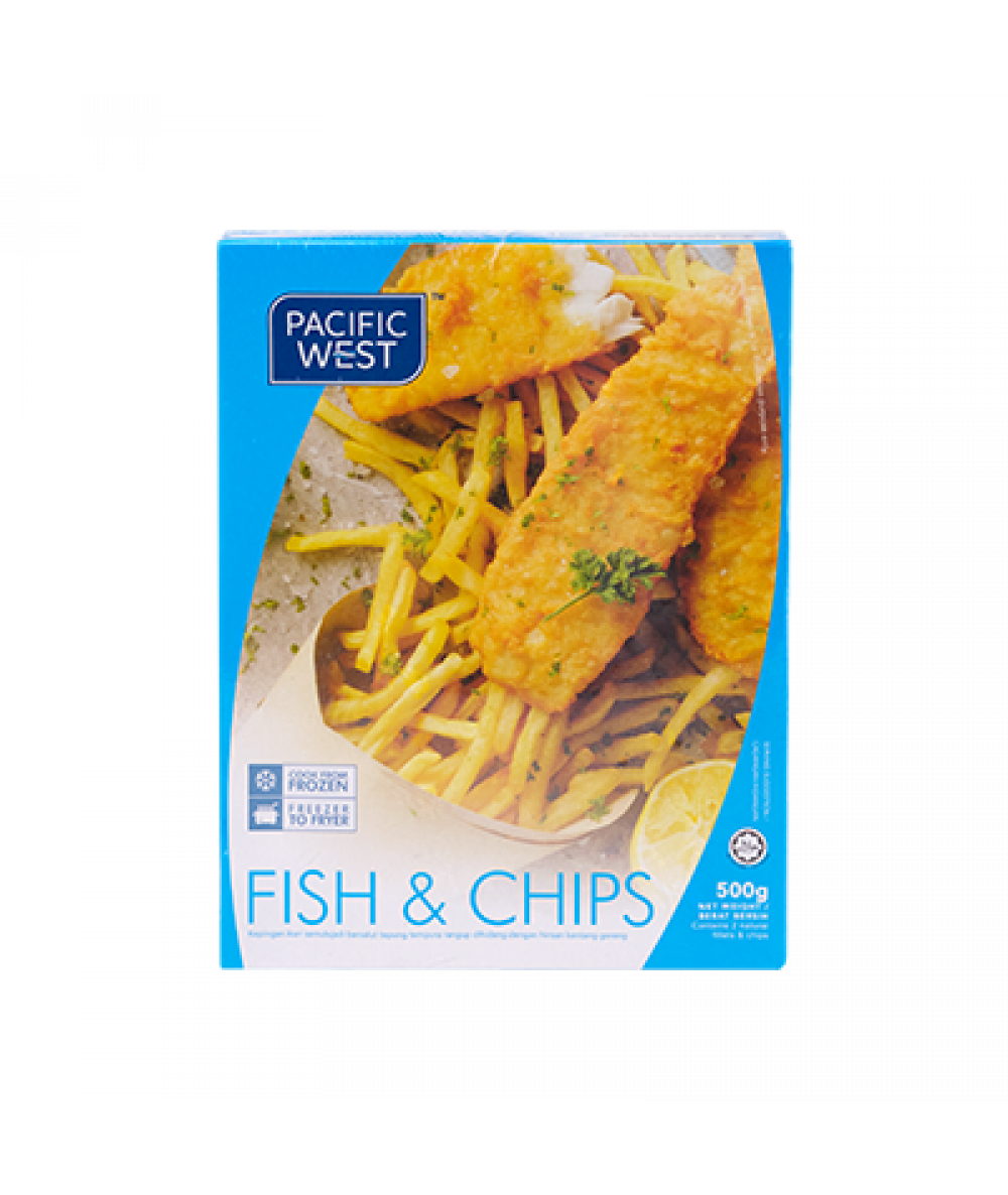 Pacific West Fish & Chips 500g