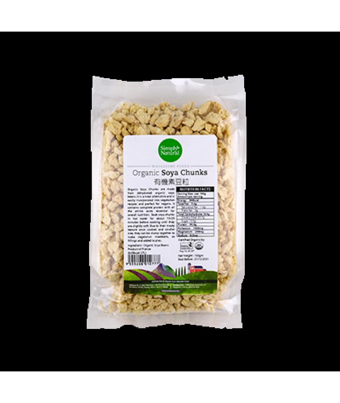 Zenxin Organic Soya Chunks 150g