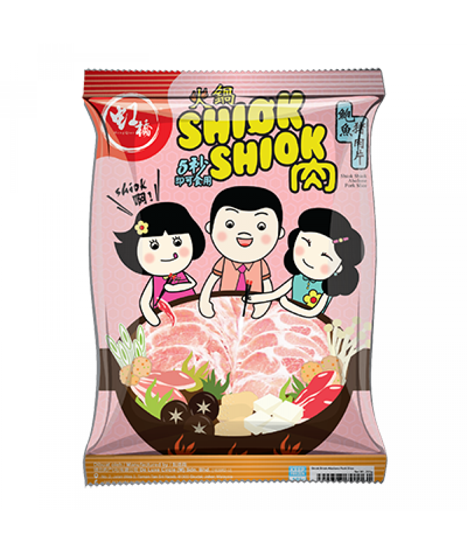 Hong Qiao Loin Slice Abalone Flavor 300g