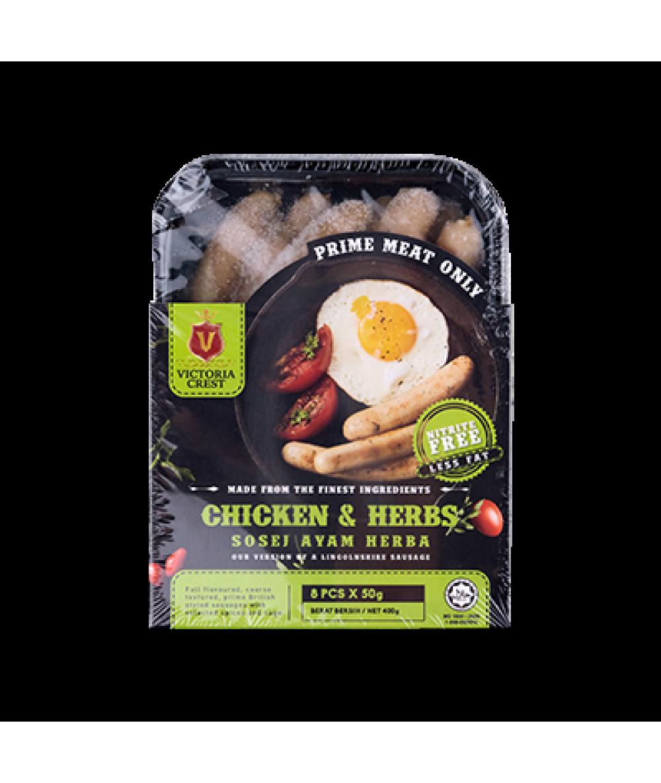 Victoria Crest Chicken & Herbs 400g