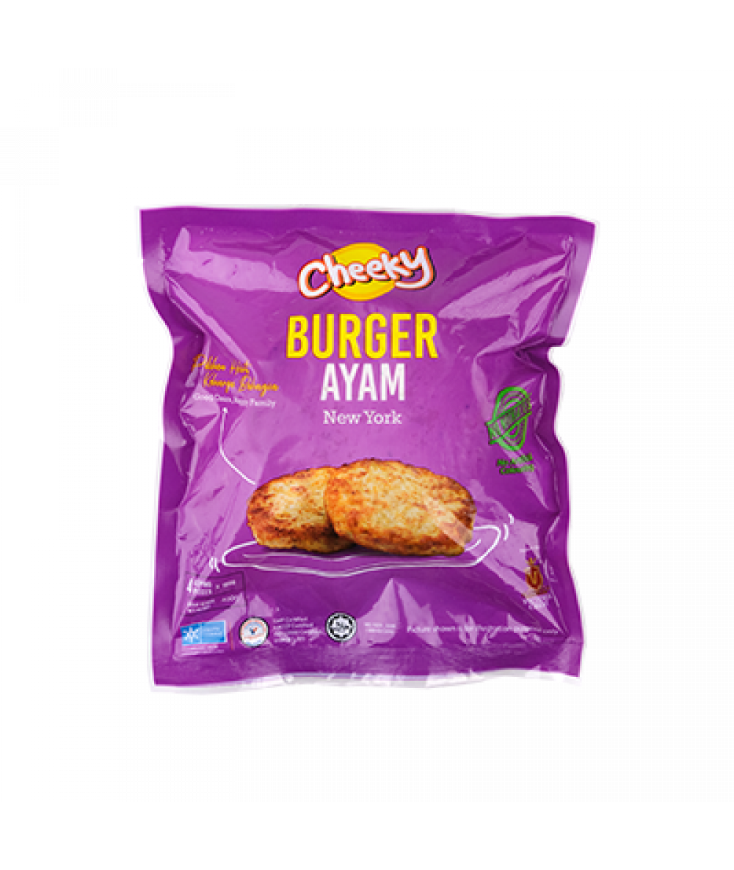 Cheeky Burger Ayam Itali 400g