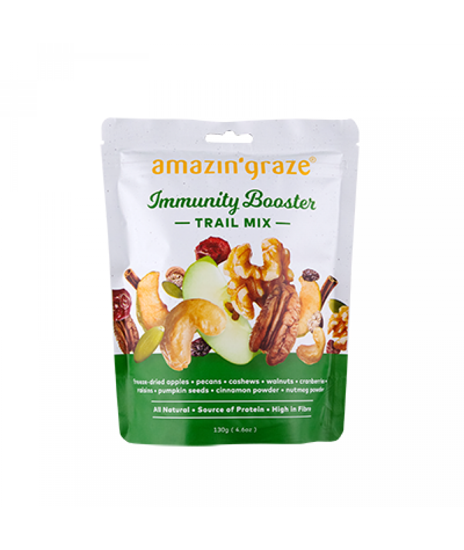 Amazin'Graze Immunity Booster Trail Mix 130g