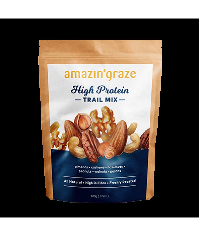 Amazin'Graze Nutty Protein Trail Mix 130g