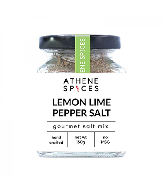 Athene Spices Lemon Lime Pepper Salt 150g