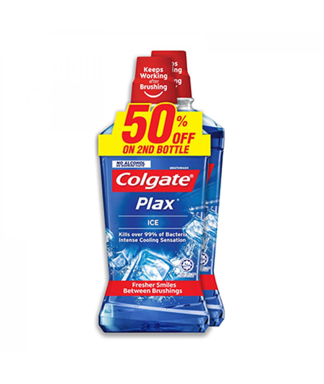 Colgate Colgate Plax Ice 750ml, 2 btls