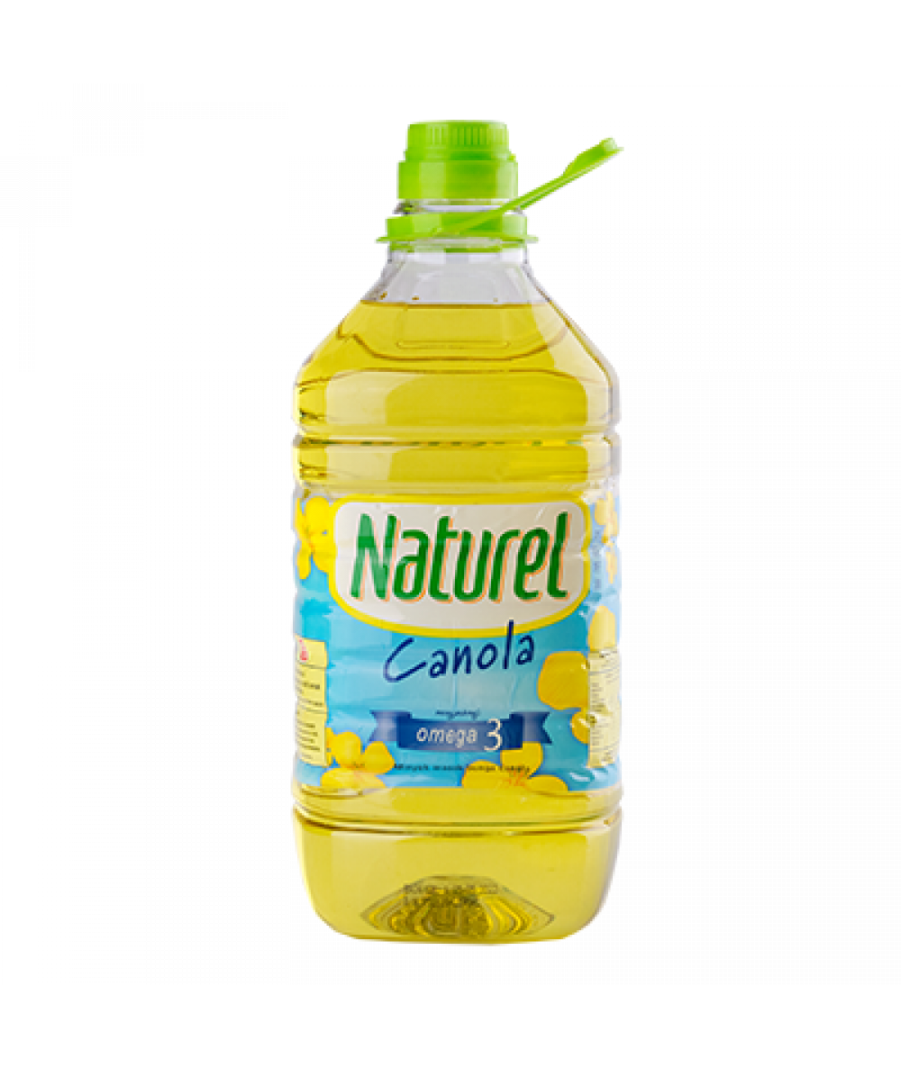 Naturel Pure Canola Cooking Oil 3kg