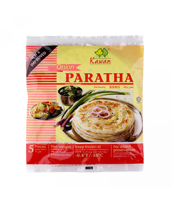 Kawan Roti Paratha Onion  400g